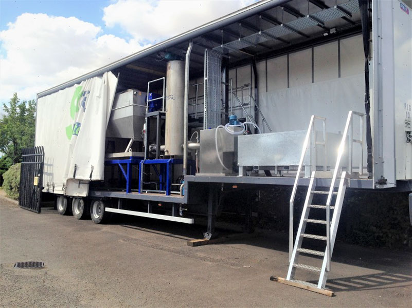 Mobile Sludge Thickening Plant by SludgeTek